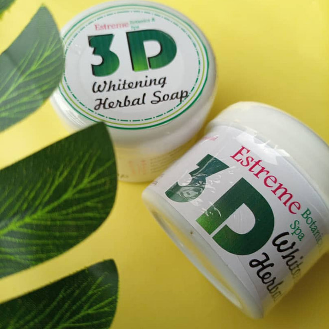 3D Whitening Herbal Soap