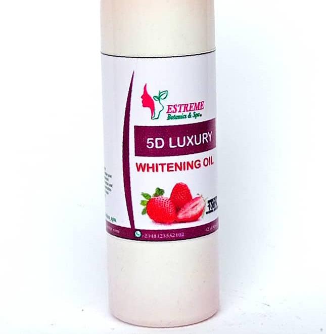 5D Luxury Whitening Oil